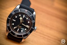 Tudor Black Bay Black Bezel / Red Triangle 79220N - EXCLUSIVE HANDS-ON REVIEW (live photos, specs & price) - Monochrome-Watches