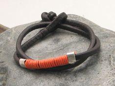 FREE+SHIPPING.+Unisex+leather+bracelet.+Men+or+by+eliziatelye,+$29,00