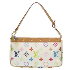 Get the trendiest Clutch of the season! The Louis Vuitton Multi Accessoir Accessory Pouch Bron White Studs Lv Blanc Monogram Clutch is a top 10 member favorite on Tradesy. Pochette Louis Vuitton, Louis Vuitton Handbags, Louis Vuitton Monogram, Monogram Clutch, Malm, Cute Bags, Vuitton Bag, Leather Handbags, Leather Bags