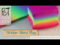 Ever wanted to take a nice Rainbow Skinner Blend Sheet and turn it into a Square Polymer Clay Cane aka Skinner Blend Plug? It's easier than you may think...  #polymerclaytutorials #polymerclaycanes #skinnerblend http://www.beadsandbeading.com/blog/square-polymer-clay-rainbow-cane-skinner-blend-plug/18241/