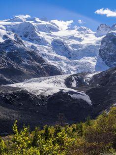 Morteratsch Glacier Switzerland [3456x4608] [OC]
