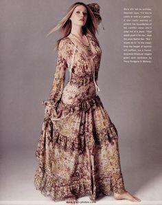 gwyneth paltrow coupure magazine robe heroic fantasy gothique reveuse cheveux…