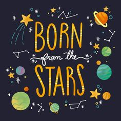 Born From The Stars Quote - Canvas Print Canvas Quotes, Art Prints Quotes, Quote Art, Framed Wall Art, Framed Prints, Canvas Prints, Star Quotes, Aunt Quotes, Quotes Quotes