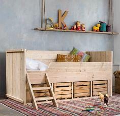 Indie Room, Kidsroom, Kids House, Girl Room, Bunk Beds, Kids Bedroom, Toddler Bed, House Styles, Furniture