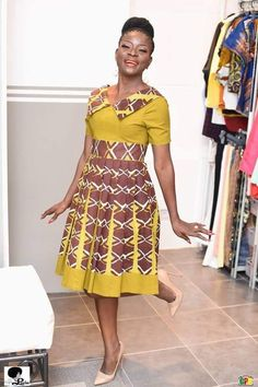 Lucie Memba takes Ankara to a whole new level with La Fée Lucie Latest African Fashion Dresses, African Dresses For Women, African Print Dresses, African Print Fashion, Africa Fashion, African Attire, African Prints, African Fabric, African Women