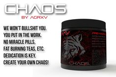 CHAOS Pre-Workout Pre-Workout Created For The Aggressive. We Don't Promise Results You Achieve That. Available Now For $36.99 Tap The Link In Our Bio. @BODYBUILDINGNATION  #BodybuildingNation by bodybuildingnation #bodybuilding #workout #motivation #musclebuilding
