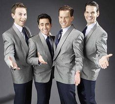 John Lloyd Young joins original stars Christian Hoff, Daniel Reichard and J. Robert Spencer as The Four Seasons in the upcoming Broadway musical Jersey Boys. John Lloyd Young, Frankie Valli, White Chicks, Yours Lyrics, Under My Skin, Jersey Boys, Throwback Thursday, Musical Theatre, Four Seasons