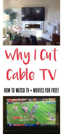 Cutting Cable TV - How to Watch Movies and TV for FREE!  Ditch the cable bill and save BIG with this easy money saving tips and tricks! | TheFrugalGirls.com