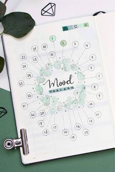 Looking to start a new mood tracker in your bullet journal?! This list of super cute ideas will help you get started!