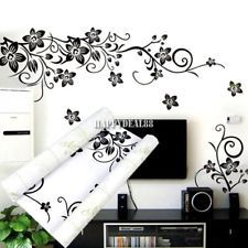 Flower Vine Removable Art Vinyl Quote Wall Sticker Decal Mural Home Rooherenow15
