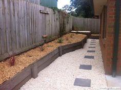 Garden Path Design Ideas by RS Decks Landscaping and construction Path Design, Design Ideas, Deck Landscaping, Garden Photos, Home And Garden, Garden Path, Paths, New Homes, Construction