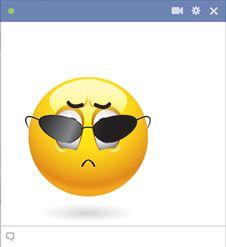 Disdain emoticon