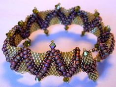 Free Beaded Spiral Bracelet Patterns | That Bead Lady - Beads, Beading & Bead Classes in Newmarket Ontario