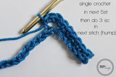 Chevron Crochet Tutorial & Pattern // by Rescued Paw Designs