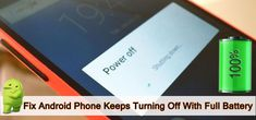 #AndroidPhone #Keeps #TurningOff With #FullBattery? Here How To #Fix!. Restart Android. Check If Your Device's #Battery Is Loose. Check #BatteryStatus. Check #Update For Your #Device. Enter #SafeMode. Uninstall Culprit #App. Turn Off #Overheating Service. Try #AndroidRepair. Ghost Touch, Play Game Online, Battery Sizes, Power Button, Data Recovery, Turn Off, Phone Cover, Android, App