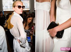 nyfw jason wu accessories.  Spring 2014 Fashion Week Accessory: Jason Wu's Gradient Sunglasses and Snap Clutch