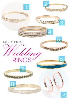 Roundup: An Engagement and Wedding Ring Do-Over - A Practical Wedding Pretty Wedding Rings, Wedding Rings For Women, Wedding Bands, Classic Engagement Rings, Platinum Engagement Rings, New Look Fashion, Practical Wedding, Dainty Ring, Three Stone Rings