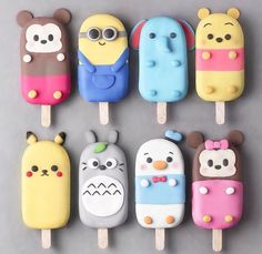 1 2 3 4 5 6 7 or Foodie Recipes Dinner Lunch Breakfast DIY Pictures Recipe Quick Fast How To >>Re Disney Desserts, Disney Food, Desserts Diy, Health Desserts, Disney Stuff, Cute Polymer Clay, Cute Clay, Magnum Paleta, Kreative Desserts