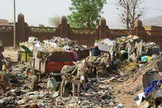ramassage des ordures ménagères de la ville de Bamak