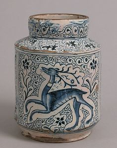 This post discusses the history of faience and other earthenware with a tin glaze. It also distinguishes faience from transferware. Ceramic Clay, Ceramic Pottery, Antique Pottery, Voyage Florence, Florence Italy, Art Antique, Keramik Vase, Italian Pottery, Medieval Art