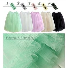 Check out our skirts selection for the very best in unique or custom, handmade pieces from our shops. Tulle Wedding, Wedding Bridesmaids, Tulle Balls, White Beige, Etsy Uk, Pink Flowers, Trending Outfits, Skirts, Free Shipping
