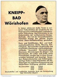 Original-Werbung/ Anzeige 1936 - KNEIPP - BAD WÖRISHOFEN - ca. 110 x 150 mm