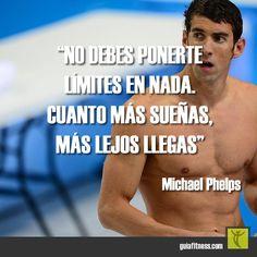 Cuanto más sueñas, más lejos llegas. No te pongas límites.  #metas #sueños #goals #motivación #frases #quotes #fitness #motivation #guiafitness