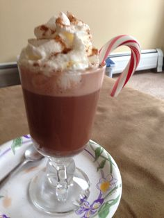 Now there's a cup of hot chocolate for you