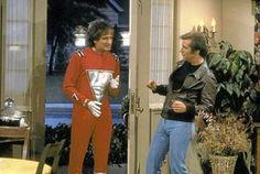 Henry Winkler and Robin Williams