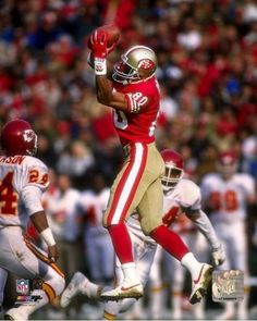 """Jerry Rice """"san Francisco 49ers"""" Licensed Un-signed Poster Print Pic 8x10 Photo from $6.99"""
