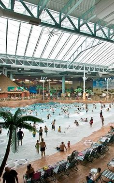 Kalahari Indoor Waterpark Ohio