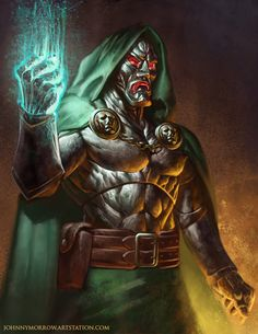 Doctor Doom by Johnny Morrow