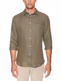 Slim Fit Sport Shirt by John Varvatos at Gilt