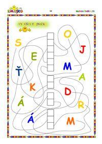 Worksheets, Kids Rugs, Activities, Education, Early Education, Speech Language Therapy, Lyrics, Slovak Language, Exercise