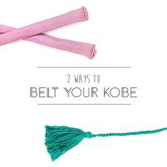 DIY Belts