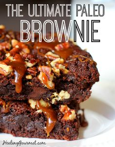 The Paleo Brownie Reinvented: Low Glycemic + Egg Free + Nut Free
