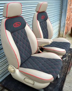 Captain Seat provide a professional bespoke reupholstering service in Melton Mowbray. Captain Seats & Rock & Roll Beds for campervans, and upholstery for motorhomes, boats, motorbikes, trucks and lorries. Car Seat Upholstery, Car Interior Upholstery, Automotive Upholstery, Custom Car Interior, Truck Interior, Garniture Automobile, Chevy Silverado Accessories, Jeep Seats, Custom Car Seats