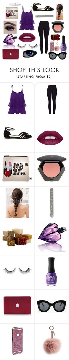 """""""cool kids"""" by winternightfrostbite ❤ liked on Polyvore featuring Sephora Collection, H&M, Diesel, ORLY, CÉLINE, Fendi and Jon Richard"""