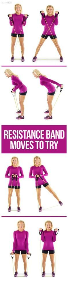 Looking for a total body workout? Try these resistance band exercises!