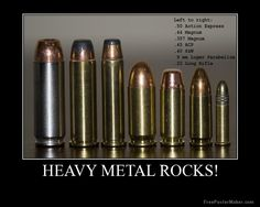 They should have slipped the 380 in there between the 9mm and the .22.