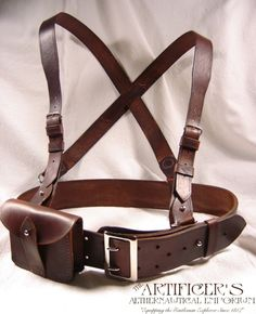 Royal Dirigible Corps Marine Sam Browne Harness