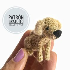 Poodles are typically seen in films, as the pet of option of a trendy character, or in canine reveals showcasing their completely groomed hair. Mini Labrador, Perro Labrador Golden, Diy Crochet, Crochet Toys, Crochet Bear Patterns, Bf Gifts, Dog Crafts, Dog Items, Dogs Golden Retriever