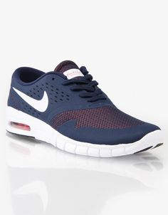 meet ca705 8644a Nike SB Eric Koston 2 Max Skate Shoes - Midnight NavyWhite Lt-Crimson
