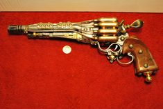 Pirate Boarding Pistol Steampunk Pistol Prop by TemporalOutfitters