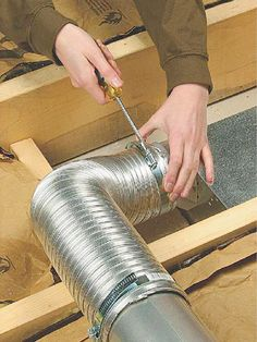 How To Install A Soffit Vent And Ductwork For A Bathroom Vent Fan - Cost to vent bathroom fan outside