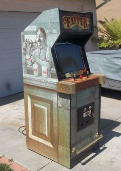 Budweiser Tapper Arcade Game | eBay - yeah when we have a basement ... I am getting this...