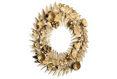 Metal Filigreed Floral Wreath on OneKingsLane.com