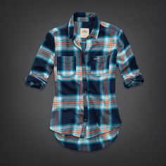Bettys Tecolote Canyon Flannel Shirt | Bettys Sale | HollisterCo.com; on sale for $20 as of 11/16/13 - medium