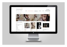 E-commerce website design, build and brand identity for arts company Fyshbol.