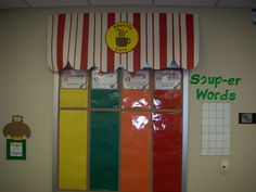 Cooking themed classroom